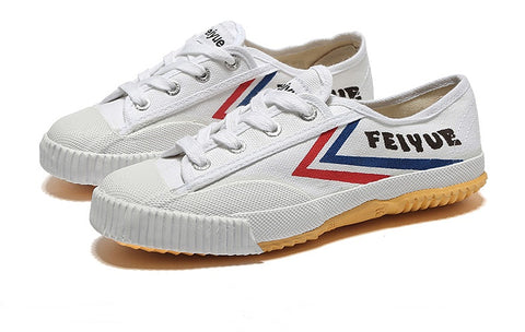 feiyue white gongfu shoes