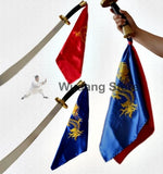 Embroidered Broadsword Sashes 2 Colors - Wudang Store
