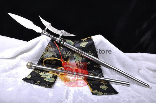 Flying Dragon Stainless Steel Short Qiang
