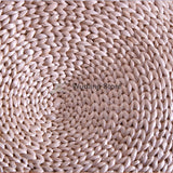 Hand-Woven Straw Meditation Cushion 3 Sizes