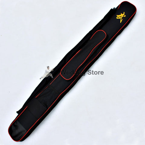 Black Kung Fu Swords Carrying Bag - Wudang Store