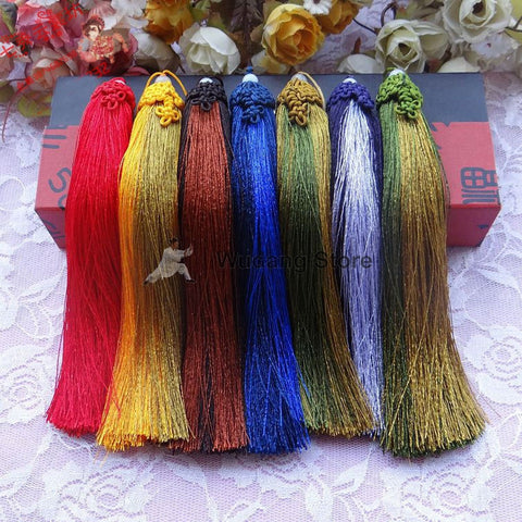 Hand-Woven Grass Hair Sword Tassel