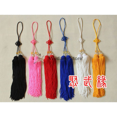 Ice Silk Tai Chi Sword Tassel 5 Colors - Wudang Store