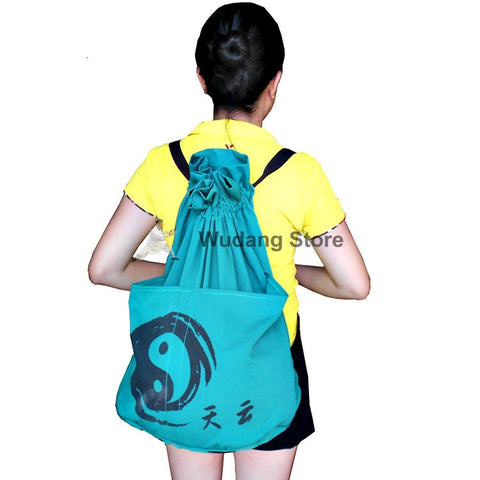 Turquise Tai Chi Ball Backbag - Wudang Store