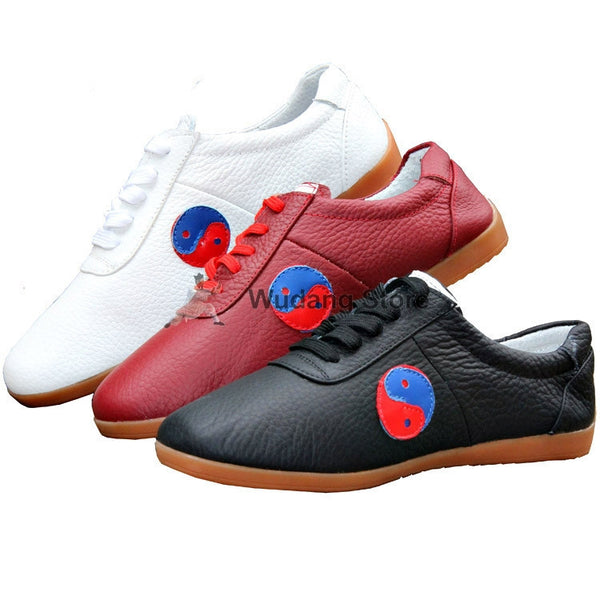 Real Leather Tai Chi Shoes