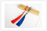 Chinese Wudang Sword Tassel Blue or Red