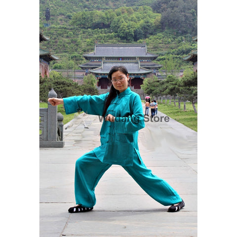 Turquise Tai Chi Uniform