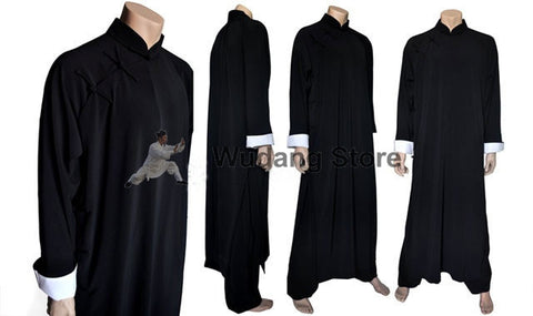 Ip Man Style Long Wing Chun Coat for Men - Wudang Store