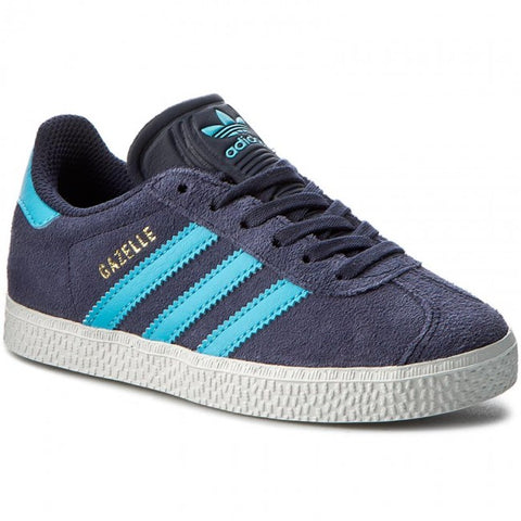 Last 11 x adidas Originals Midnight Grey Chidrens Gazelle B-GRADE Trainers rrp£40 (BB2510) - Only £11.99