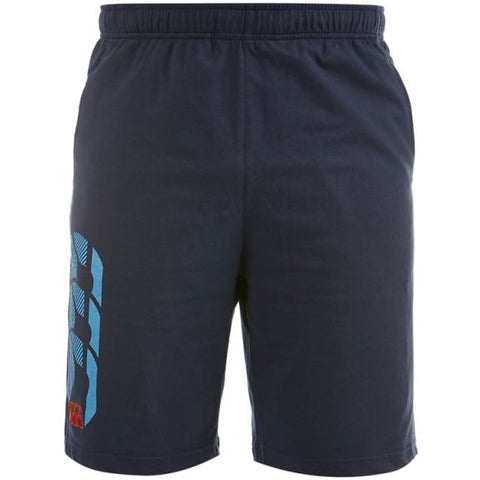 Last 25 x Canterbury Mens Leg Logo Shorts (E523421 769) rrp£22 - Incredibly Only £5.99