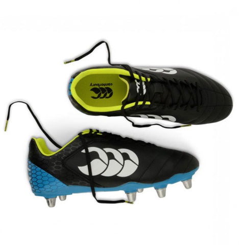 15 x Canterbury Stampede Club 8 Stud Mens Rugby Boots rrp£50 Only £13.49 (45 in stock)