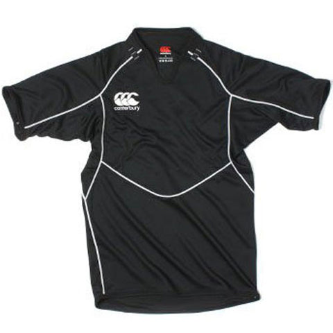 12 x Canterbury Mens Club Black Training Rugby Jerseys (B975511 989) rrp£45 - Incredibly Only £5.39