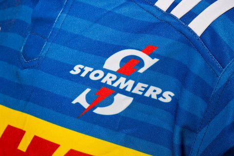 Last 45 x adidas Stormers Junior Super Rugby Home Jerseys rrp£60 - INCREDIBLE BARGAIN £6.49 !!