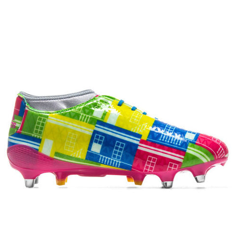 9 x adidas Adizero Malice 7S SG Mens Rugby Boots BB6013 rrp£150 Was £59.99 Now £55.79