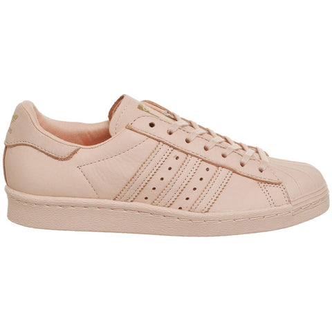 Last 9 x adidas Superstar 80s Vapour Pink Ladies Trainers rrp£120 (CP9722) - Was £37.69 - Now £32.49