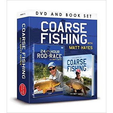 52 x Coarse Fishing DVD & Book Giftsets rrp£12.99 Only £1.99