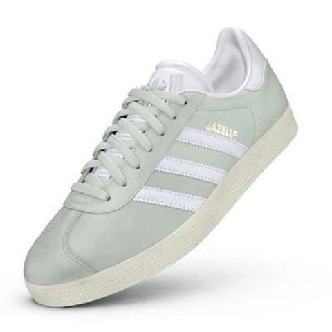 Last 8 x adidas Originals Womens Gazelle Nubuck Trainers rrp£85 (BY9034) - Was £32.49 Now £27.49
