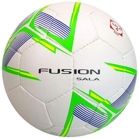 30 x Precision Fusion Sala Futsal Balls Official Size 4 (White/Green/Yellow) rrp£20 Only £7.99