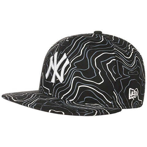 72 x New Era Contour Crown Neyyan Blkwhi Baseball Caps rrp£35.00 - Only £5.99 each!!