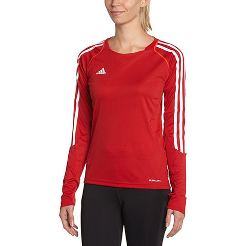 30 x adidas Climacool Womens T12 Teamwear Longsleeve T-Shirts (X13171) rrp£40 - Incredibly Only £8.99 (660 in stock)