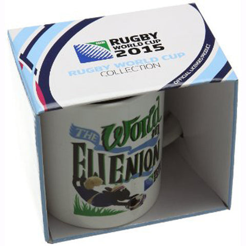 "36 x Rugby World Cup ""Shaun The Sheep World in Ewenion"" Coffee Mugs rrp£10 Only £0.29 each!!"