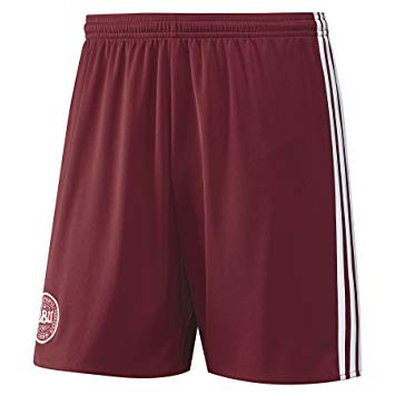 Last 20 x adidas Performance Mens Denmark Home Football Shorts (A99926) rrp£30 - Incredibly Only £6.99