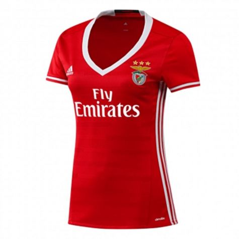 Last 9 x adidas Womens Benfica Home Football Jerseys rrp£50 (AI8092) - Only £5.99!!