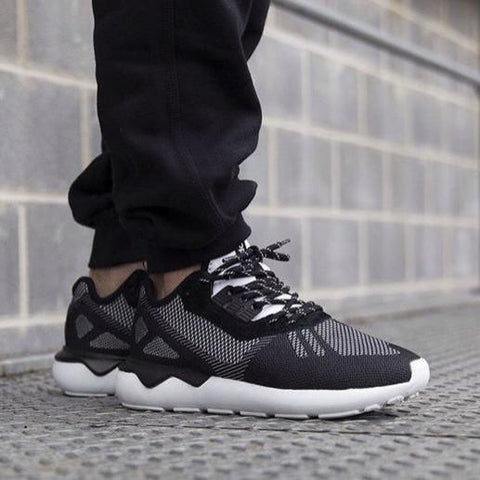 18 x adidas Originals Tubular Runner Weave Core Black Mens rrp£90 Only £27.99
