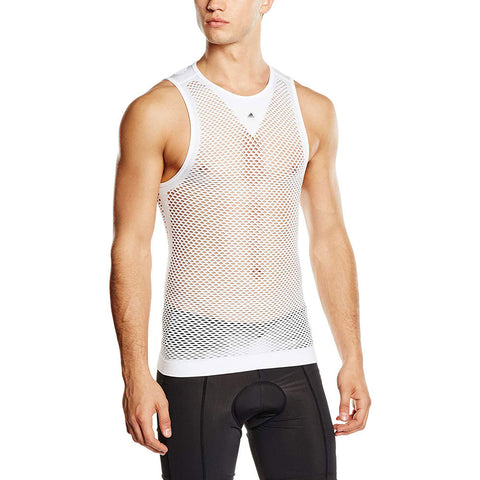 Last 28 x adidas Performance Mens Cycling Netted Vests (AO8484) rrp£35 - Incredibly Only £7.99