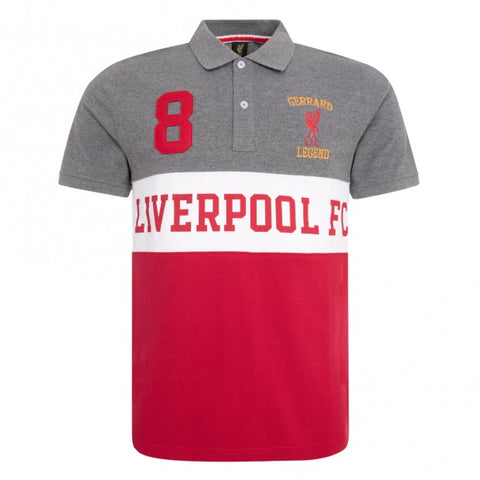 Last 13 x Liverpool FC Legend Ltd Edition Steven Gerrard Polo Shirts rrp£35 Now Only £5.49