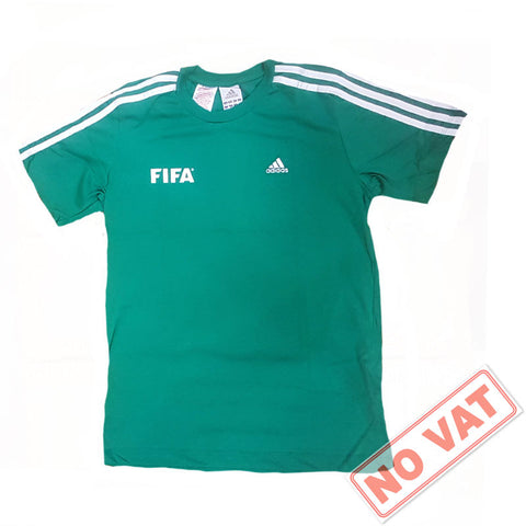 45 x adidas Official Fifa 3-Stripe Grassroots B Grade Football T-Shirts rrp£25 Only £2.49 each