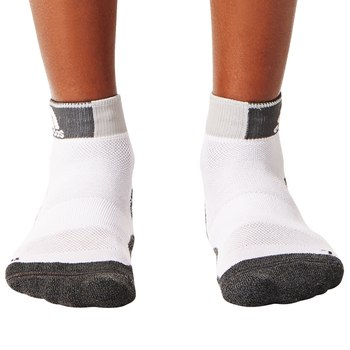 Last 31 x adidas Energy Running Cushioned Ankle Socks White AA2257 rrp£15 Only £2.99