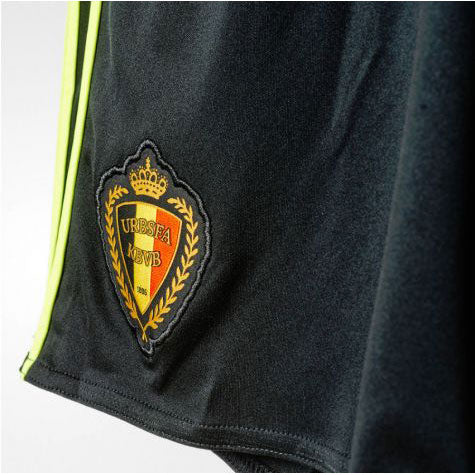 Last 25 x adidas Performance Belgium Home Mens Football Shorts (AA8741) rrp£30 - Incredibly Only £7.49