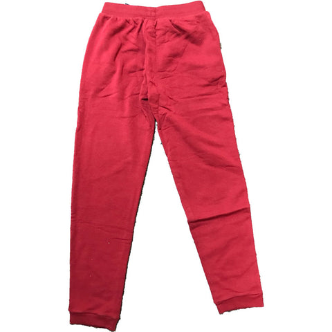 Last 32 x adidas Originals Trefoil Fleece Trousers Red AB2445 rrp£50 Only £5.89