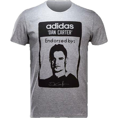 30 x adidas Dan Carter New Zealand All Blacks Rugby T-Shirts rrp£25 Only £4.29 each!!