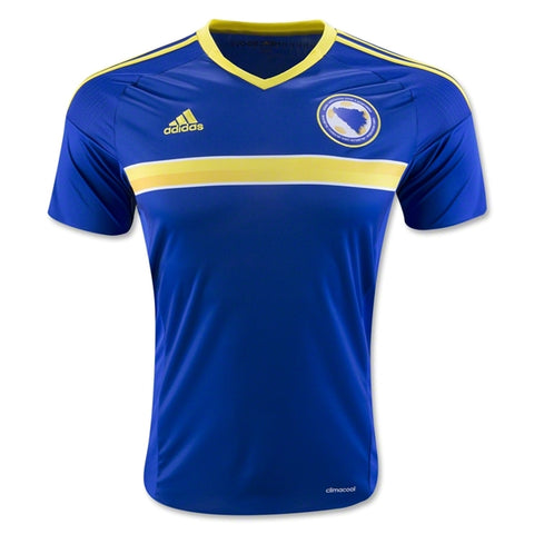 102 x adidas Bosnia and Hertzegovina Kids Short Sleeved Home Football Jerseys (AC6616) rrp£45 - Incredibly Only £1.99!!