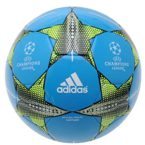 20 x adidas Champions League Finale 15 Capitano (Blue) Size 5 Footballs (AO0760) rrp£20 - Now Only £3.99 each