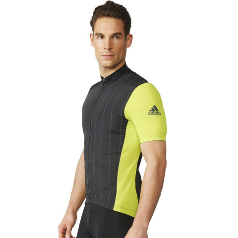 Last 8 x adidas Performance Supernova Reflectivity Mens Cycling Jerseys (AI2821) rrp£80 - Incredibly Only £14.99
