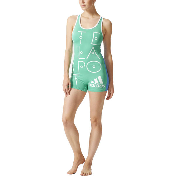Last 12 x adidas Stella McCartney Womens All In One Swinsuit AI8598 rrp£40 Only £11.69
