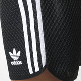 17 x Womens adidas Originals 3 Stripes Mesh Shorts (AJ7990) rrp£42 Was £12.79 Now £10.88