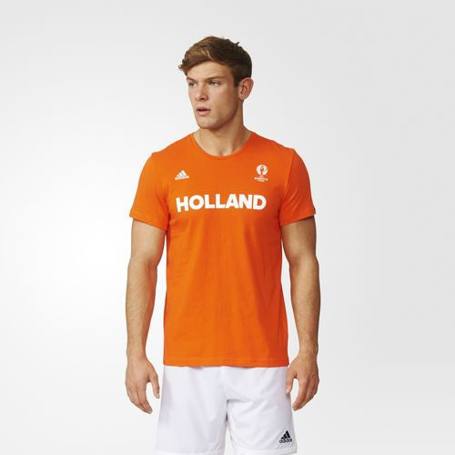71 x adidas Euro 2016 Holland Football B Grade T-Shirts - AO4114 -  rrp£25 Now Only £2.49 each - IN STOCK IMMEDIATE DELIVERY