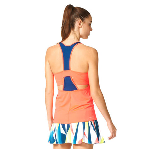 25 x adidas Womens Tennis Pro Tank Tops AP4824 rrp£40 Only £8.49 (100 In Stock)