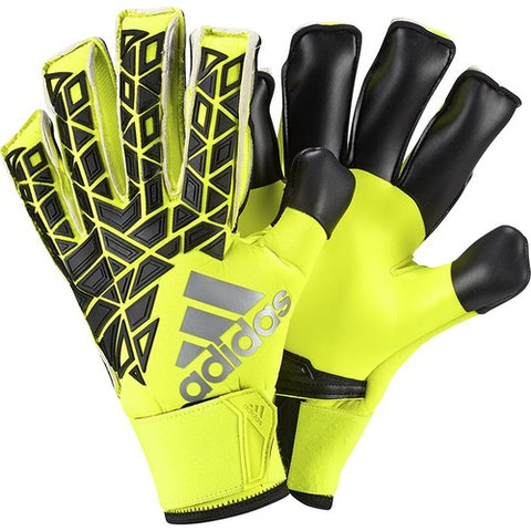 8 x adidas ACE Finger Save Promo - Solar Yellow / Black AP7020 rrp£95 **FINAL PRICE DROP** Only £21.99!!