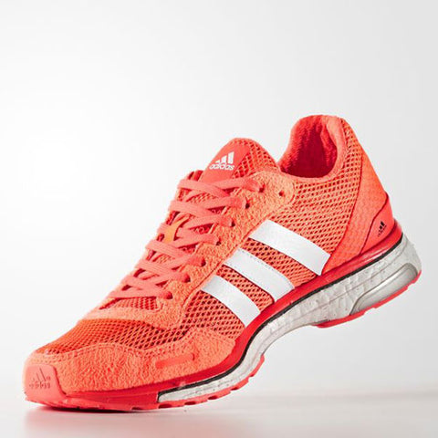 Last 7 x adidas Womens adizero Adios 3 Running Shoes Red rrp£100 (AQ2433) - Was £45.99 - Now £38.99