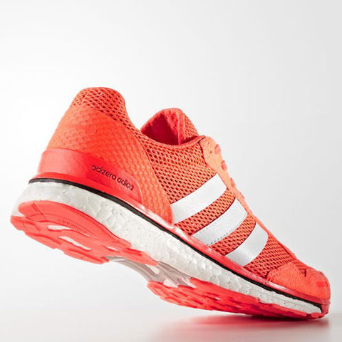 7 x adidas Womens adizero Adios 3 Running Shoes Red AQ2433 rrp£100 Only £45.99