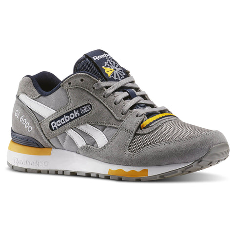 12 x Reebok Mens GL 6000 PP Trainers Grey AQ9750 rrp£50 Only £26.99 (24 In Stock)