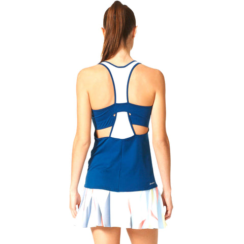 25 x adidas Womens Pro Tennis Tank Tops AX8125 rrp£40 Only £8.49 (100 In Stock)