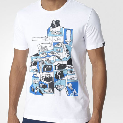 Last 33 x adidas Sneaker Scene Tee Shirt rrp£22 Now Only £5.49!!!