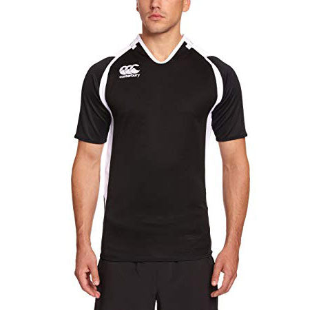8 x Canterbury Men's Black Challenge Jersey (C07442) rrp£45, Only £5.39!!