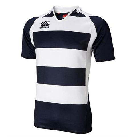 10 x Canterbury Rugby Mens Hooped Challenge Jersey S/S Shirts (B975775 769) rrp£30, Now Just £7.99!!